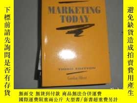 二手書博民逛書店Marketing罕見todayY25820 出版1990