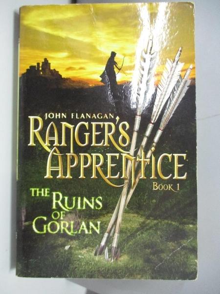 【書寶二手書T2/原文小說_AML】The Ruins of Gorlan_John Flanagan