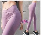 依芝鎂-B416運動褲露肚臍長褲路跑健身褲子正品,單褲售價599元