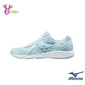 Mizuno慢跑鞋 女鞋 SPARK 5 運動鞋 跑步鞋 訓練鞋 輕量 耐磨運動鞋 美津濃 J9213#水藍◆OSOME奧森鞋業