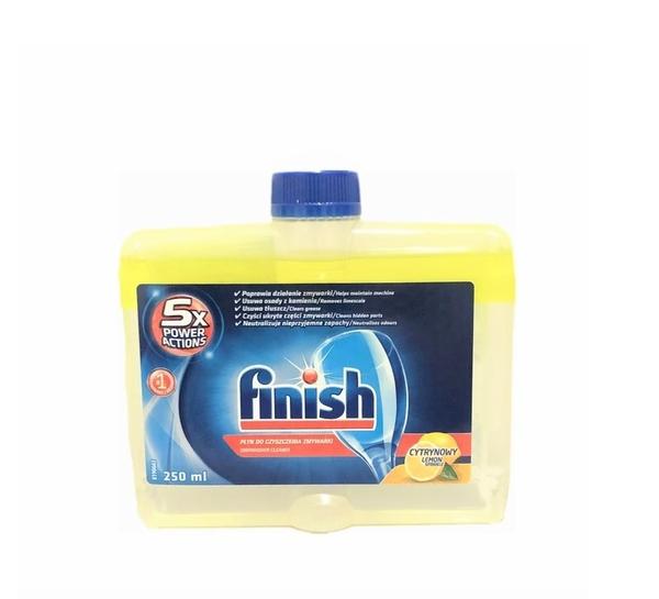 英國進口 Finish 洗碗機專用 洗碗機清潔劑 / Lemon 檸檬 250ml