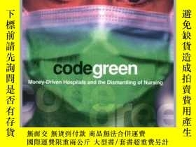 二手書博民逛書店Code罕見Green: Money-Driven Hospitals and the Dismantling o