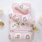 快速出貨幼兒園被子三件套純棉春秋季兒童午睡棉花墊被褥全棉