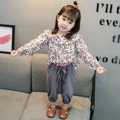萬聖節狂歡   女寶寶秋裝套裝0一1-2-3歲韓版潮洋氣公主童裝兩件套小孩套裝女【居享優品】