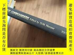 二手書博民逛書店THE罕見COMMANDERS Edited by D.M.Ho