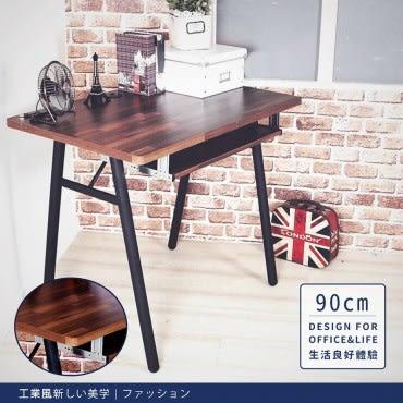 【DIJIA】工業風工作桌/電腦桌/書桌(含鍵盤架)90CM-DIY