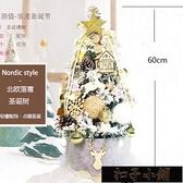 樹 加密PE植絨樹60cm裝飾家用擺件小型櫥窗情侶男女禮【全館免運】