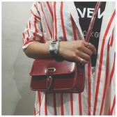 時尚韓國小方包百搭小包包簡約女包復古單肩包側背包    3C優購