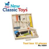 【荷蘭 New Classic Toys】天才小木匠工具箱12件組 18281