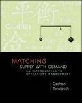 二手書博民逛書店 《Matching Supply with demand》 R2Y ISBN:0072918993│Cachon