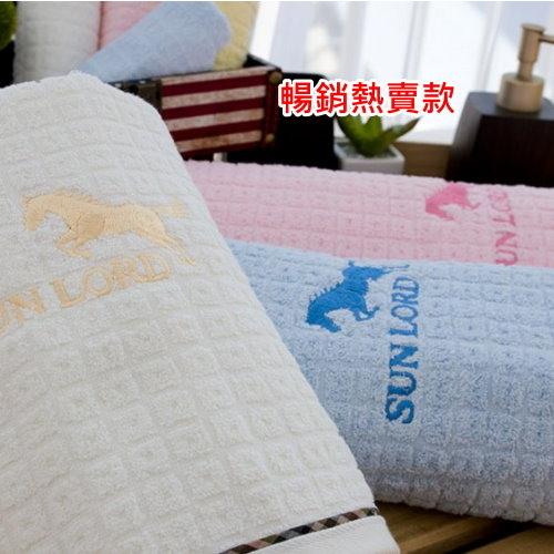 【浴巾】小格子花布純棉薄款浴巾(單條) 多色選擇  【台灣興隆毛巾專賣*歐米亞小舖】輕薄易乾