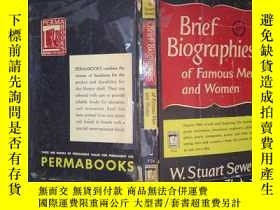 二手書博民逛書店Brief罕見Biographies of Famous Men