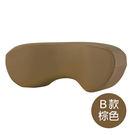 【B款棕色_皮質舒頸枕】辦公室/車用頸部...