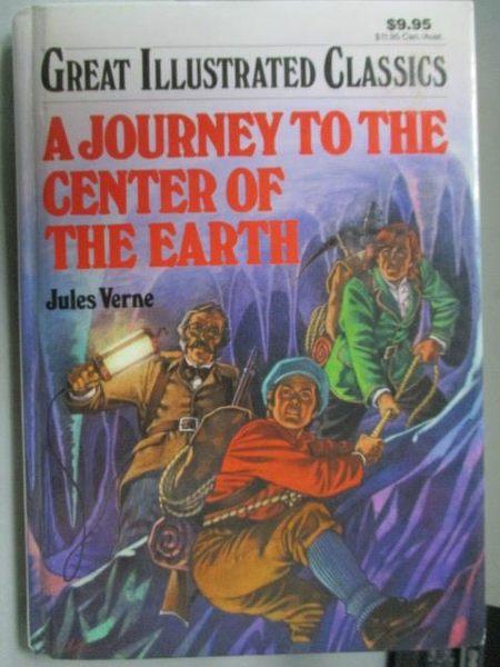 【書寶二手書T6/原文小說_MOZ】A Journey To the Center of The Earth