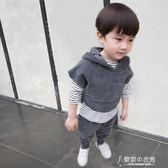 童裝秋裝男童套裝兒童燈芯絨三件套0-6歲寶寶春秋季套裝3【東京衣秀】