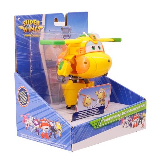 《 SUPER WINGS 超級飛俠 》變形巴奇 / JOYBUS玩具百貨