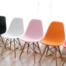 椅子-伊姆斯椅實木餐椅現代簡約書桌椅北歐家用靠背凳子臥室休閒懶人椅 莎瓦迪卡