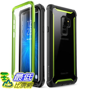 手機保護殼 Samsung Galaxy S9+ Plus case, i-Blason [Ares] Full-Body Rugged Clear Bumper Case