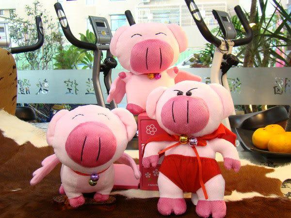 【 X-BIKE 晨昌】 咬虎豬豬仔絨毛娃娃