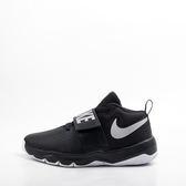 NIKE  TEAM HUSTLE 兒童籃球鞋-黑/白 881941001