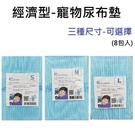 ◆MIX米克斯◆【團購價8包入】RICH.C瑞奇 乾老師-寵物尿布墊,輕薄堅韌不易側漏 三種尺寸 S/M/L