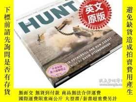 二手書博民逛書店獵捕罕見英文原版 The Hunt 動物世界生存之戰 BBC自然