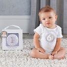紀錄貼紙 Baby Aspen BAS 寶寶成長月份紀錄貼紙 - 藍色 BA28003NA