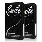 超值組合(2盒入/組) Smile 史邁爾 3 in 1 衛生套 12片裝 保險套三合一【套套先生】螺紋