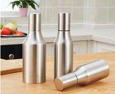 不銹鋼油壺 廚房防漏油壺油瓶套裝醬油瓶調料瓶油罐廚房用品   蓓娜衣都