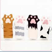 可愛仿真創意貓爪筆袋女韓國學院簡約文具盒個性小清新鉛筆