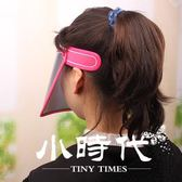 遮陽帽 夏女士防紫外線太陽帽子騎電動車防曬帽遮臉大沿檐空頂