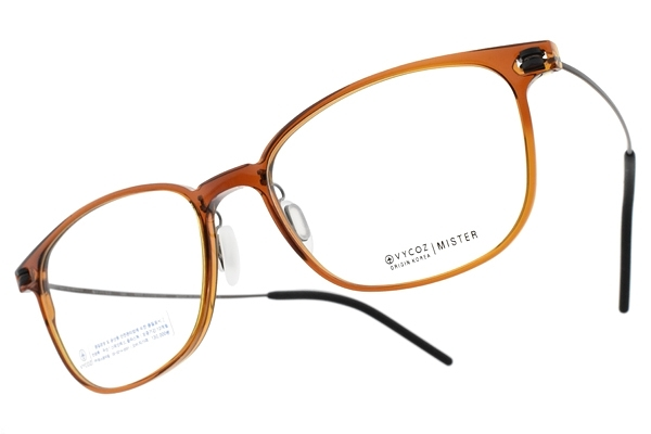 VYCOZ 光學眼鏡 MISTER BRN (透棕-棕) 植粹環保簡約鏡框 # 金橘眼鏡