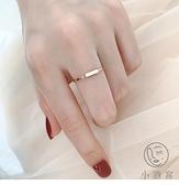 時尚個性戒指小長方形關節食指尾戒指女【小酒窝服饰】