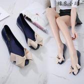 夏季雨鞋女短筒塑料防水果凍鞋