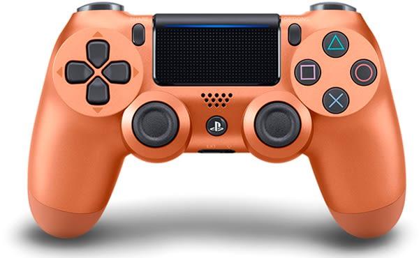 PS4 新無線控制器(銅色)