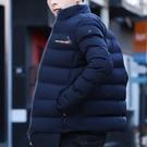 韓版修身外套棉服潮流帥氣羽絨棉襖2020冬季新款男士棉衣休閒衣服 酷男精品館