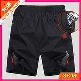 短褲 運動短褲男寬鬆速干大碼五分褲健身套裝跑步夏季薄款透氣男沙灘褲