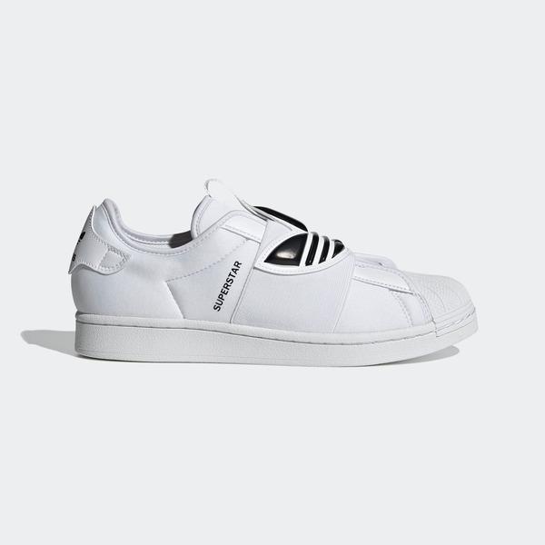 Adidas Superstar Slipon [GZ8399] 女鞋 運動休閒 經典 簡約 皮革 舒適 三葉草 白 黑