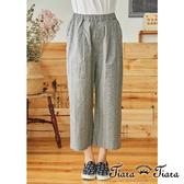 【Tiara Tiara】百貨同步aw 復古知性風方格直筒長褲(卡其/黑)