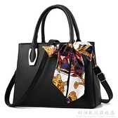 手提包包新款潮中年女包單肩斜背包包女士百搭大容量手拎媽媽包 中秋特惠