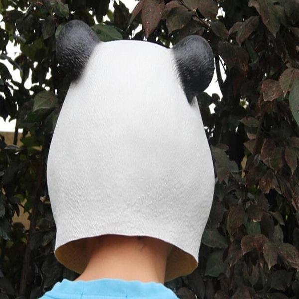 派對動物 五月天 頭套 功夫熊貓 圓仔 團團圓圓 面具/眼罩面罩 cosplay 整人 變裝【塔克】