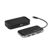 平廣 5G真無線投影簡報神器 蘋果/筆電一對一免軟體/Type-C接頭/USB C Hub擴充座/VGA/HDMI雙輸出