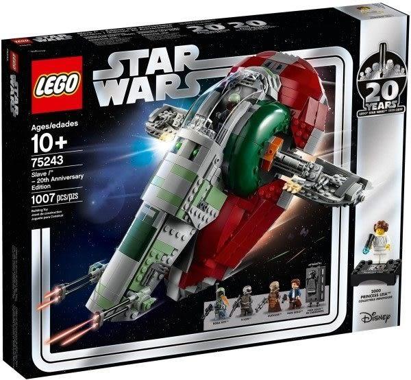 【LEGO樂高】STAR WARS 奴隸一號 20週年紀念版 #75243