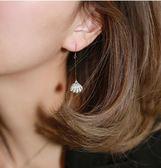 耳環女氣質正韓個性百搭簡約精致耳釘 長款迷你流蘇超仙耳飾耳墜
