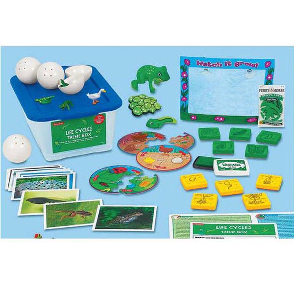 主題教學2-生命循環 Lakeshore兒童幼兒教具玩具道具遊戲角落主題單元輔助功能學習活動指引