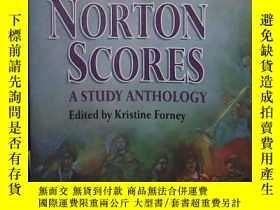 二手書博民逛書店原版罕見The Norton Scores A Study An