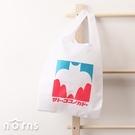 日貨蠟筆小新佐藤九日堂Eco bag- Norns日本正版 折疊式環保購物袋 手提袋 Crayon Shinchan