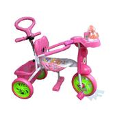 【MIT 精選童車】三輪車系列 - 玩偶IC手控三輪車 E511