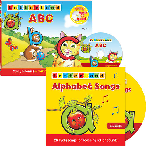 【Letterland】ABC三部曲 - Level 1 ─再加贈Once Upon A Time in Letterland(DVD)
