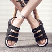 2019夏季新款拖鞋防滑軟底沙灘鞋休閒越南學生涼拖鞋男士涼鞋